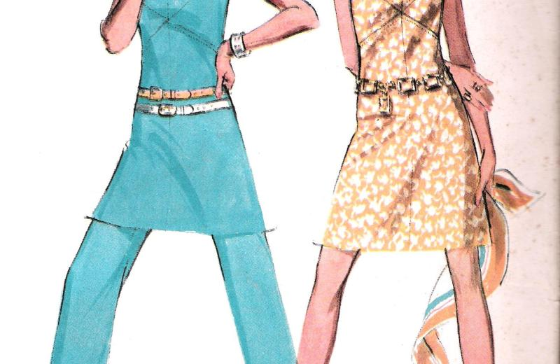 McCalls 2270 Pants Dress Sewing Pattern Bust 38