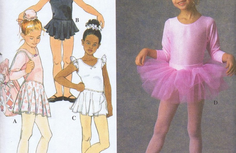 7351 Simplicity TuTu Leotards