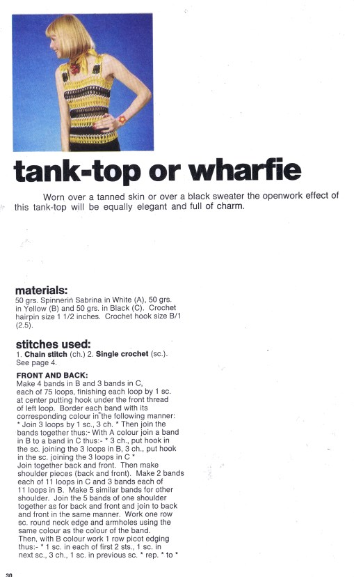Tank Top or Wharfie