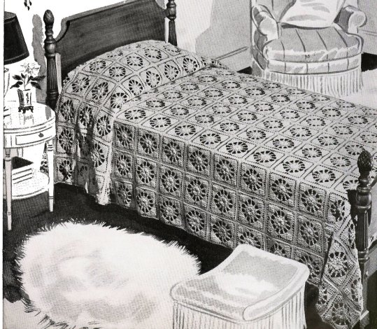 Bed of Rose bedspread