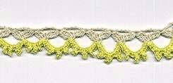 Crocheted Edging Lady-Slipper