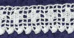 vintage crochet veronica edging pattern