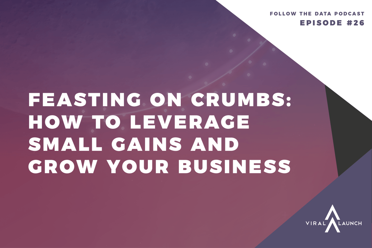 Feasting on Crumbs: How to Leverage Small Gains and Rank Higher on Amazon (Follow the Data Ep. 26)