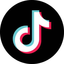 TikTok logo | amazon 2020 year in review