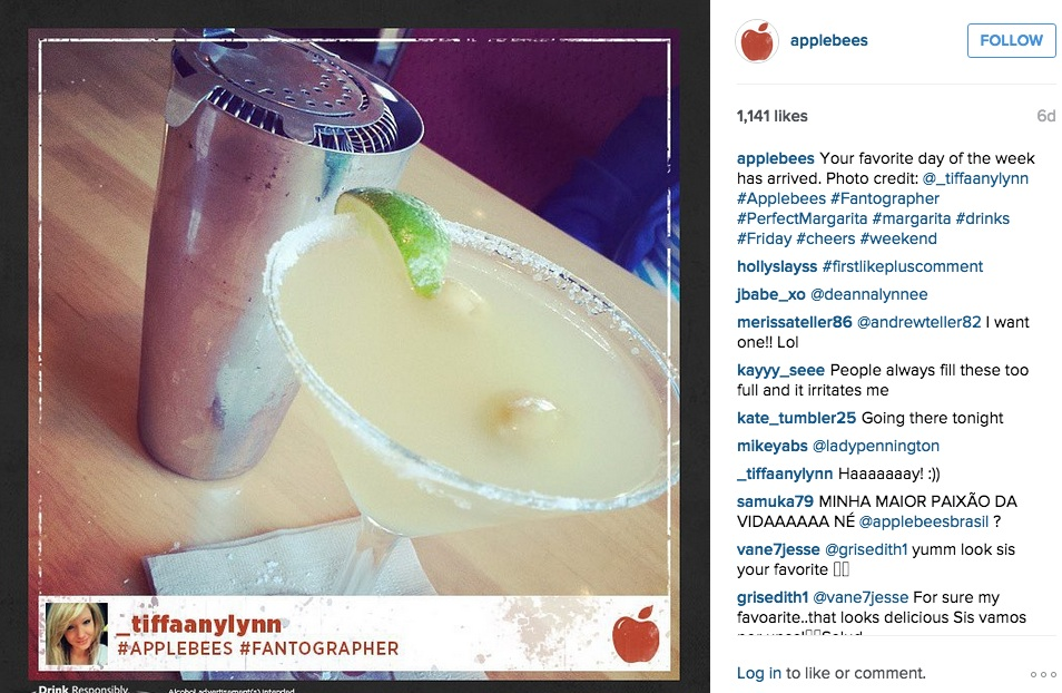 Applebee's on Instagram
