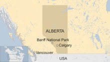 Finding Banff on The Map