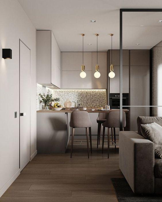 idee per arredare un soggiorno in stile vintage. Cucina E Living Open Space Blog Visioninterne
