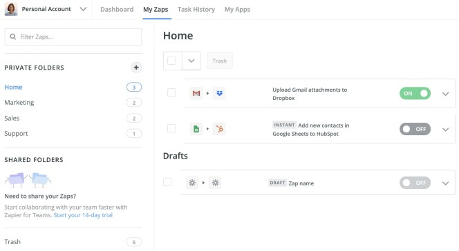 Lead Generation Tools - Zapier