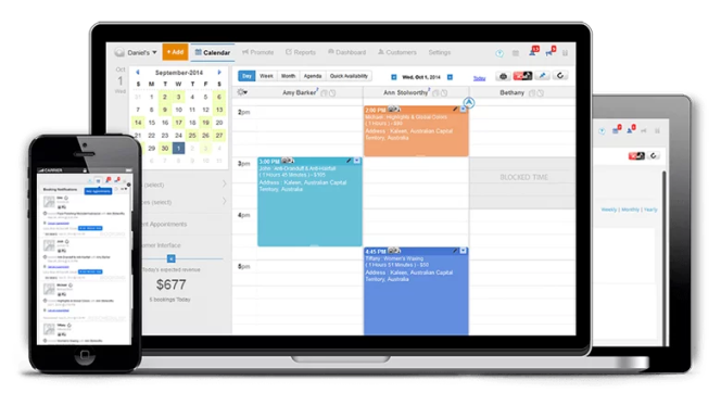Image of demo scheduling software Appointy™