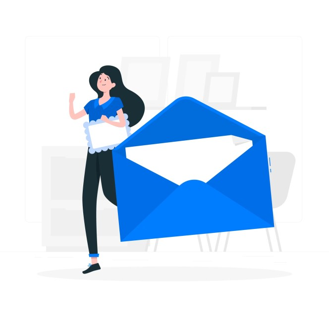 Getting mail keeps your team positive