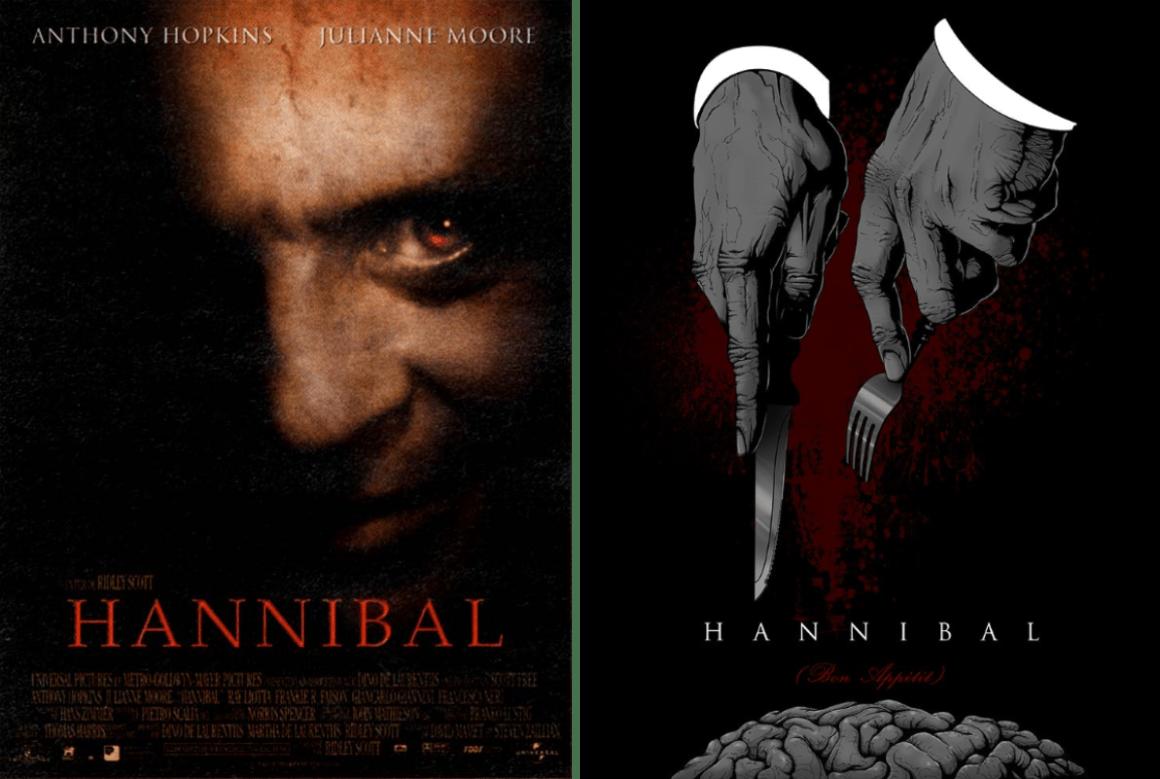 hannibal minimalist movie posters