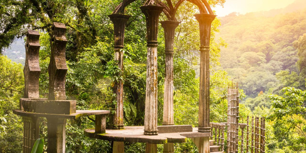 Castillo de Edward James en Xilitla