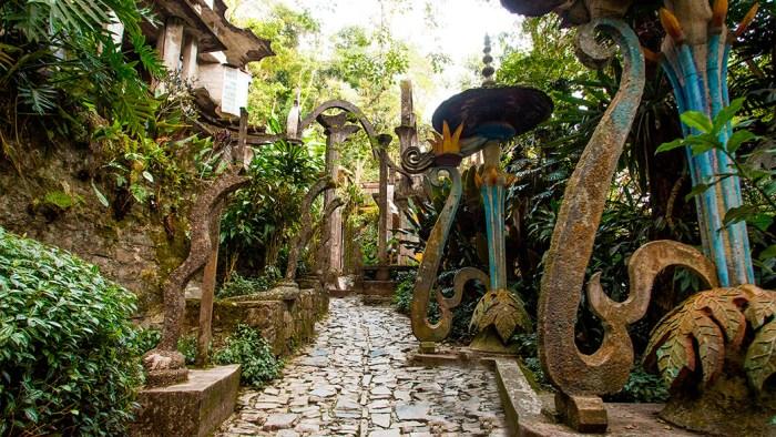 Entrada de las Serpientes en Jardín Edward James