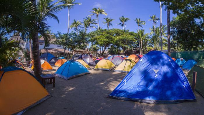 Lugares para acampar en Puerto Vallarta