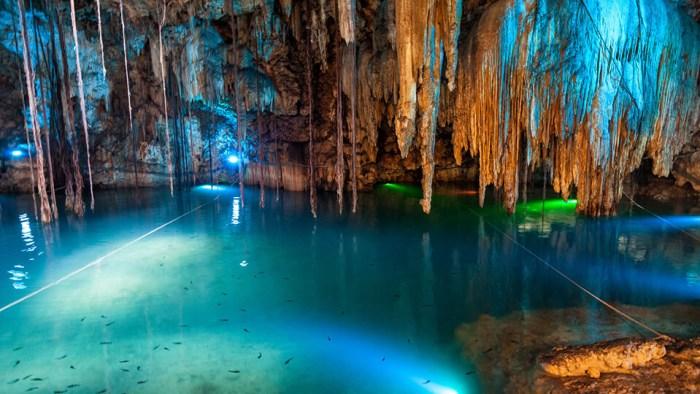Cenote Dzitup en Valladolid Yucatán