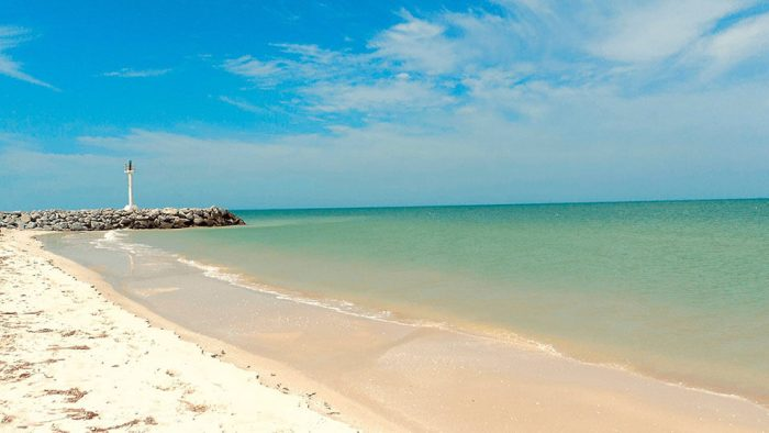 Playas de Yucatán para visitar - Churbuna
