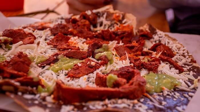 Gastronomía en Mazunte Oaxaca