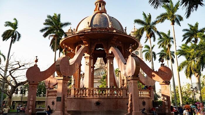 Plaza de Armas en Tampico