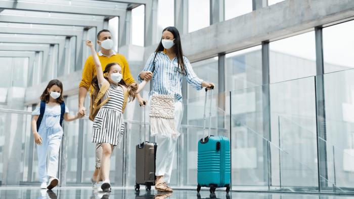 viajar en avión durante pandemia
