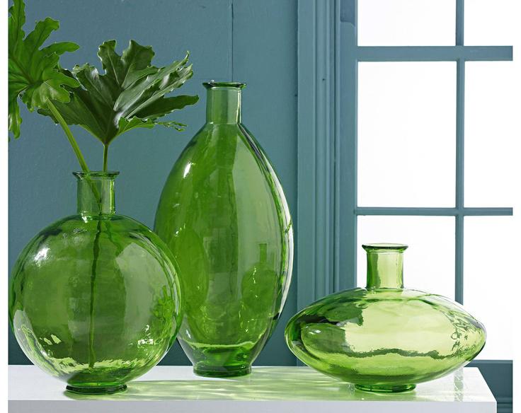 Green Glass Vases Vkvvisualsblog