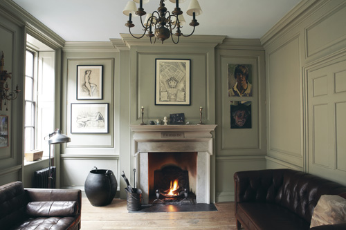 Classic panelling in Guilford Green