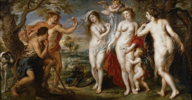 'De ste ribe, znamo se sa instagrama - The Judgement of Paris - Peter Paul Rubens (1636)
