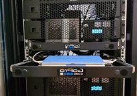 Blog server rack