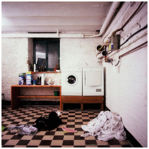 De waskelder door Bruno Bollaert