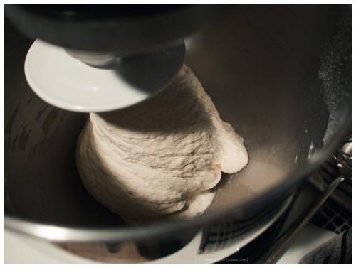 Wit brood, zuurdesemig