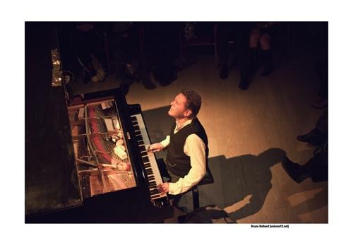 Keith Tippett door Bruno Bollaert