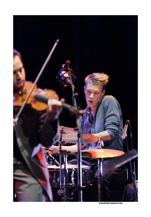 Jazz Plays Europ in De Werf, Brugge door Bruno Bollaert