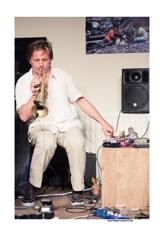 Laurent Blondiau Trio door Bruno Bollaert