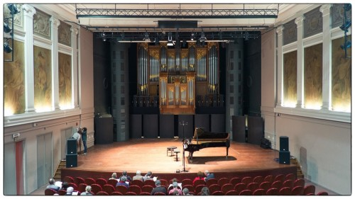 De Miry Zaal van het Gentse Conservatorium
