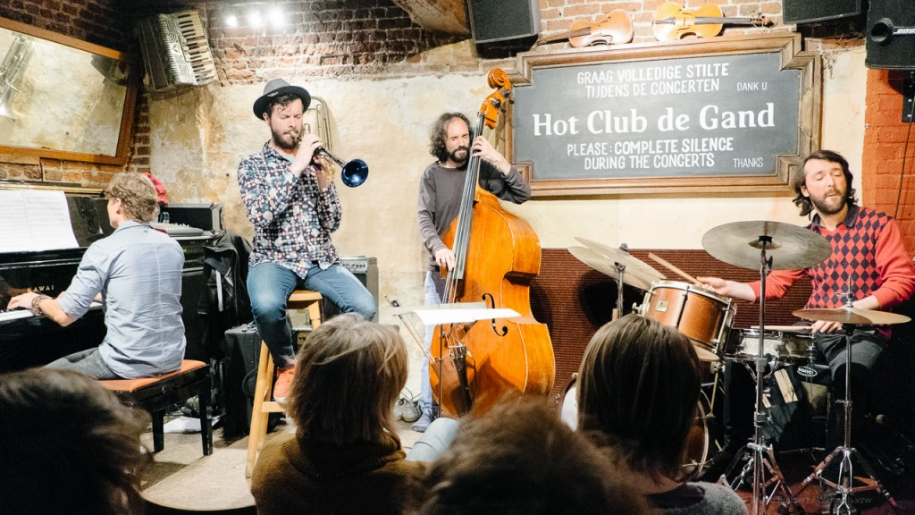 Lionel Beuvens Quartet, Hot Club De Gand, Gent, BE, 29/04/2015