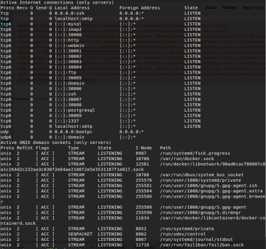 Game of Thrones CTF: 1 – Vulnhub Writeup - Will's Security Blog