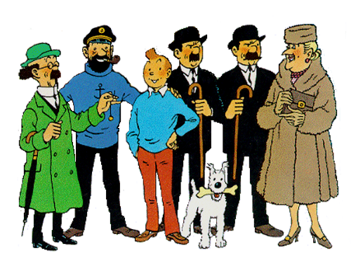 Tintin stories were my favourite comics when I was a kid - right after the Donald Duck stories at least.