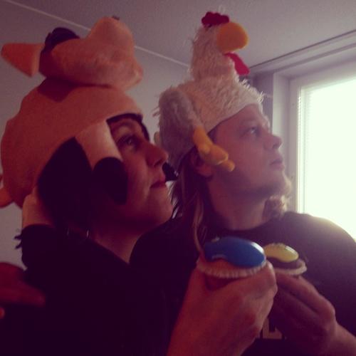 Birthday cupcakes - 39 years old WHOO!