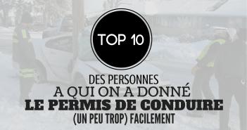 Top 10 des images insolites du permis de conduire