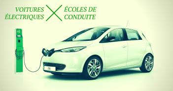 Les voitures électriques, nouvelle mode des auto-écoles