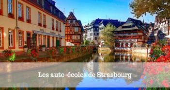 Les auto-écoles de Strasbourg