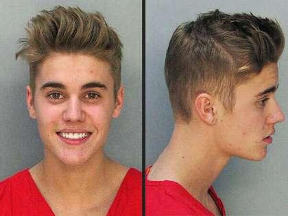 Justin Bieber DUI mug shots