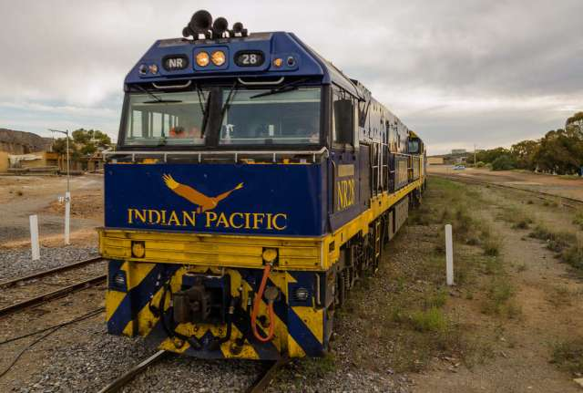 Indian Paicific train