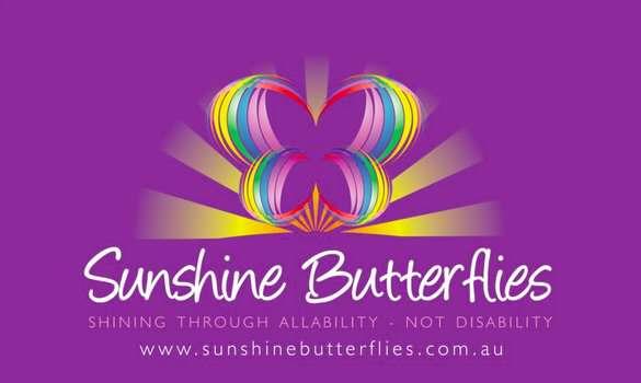 Logo for Sunshine Butterflies in Noosa.