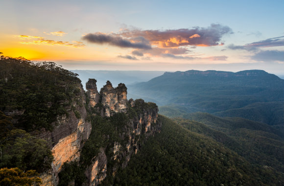 Blue Mountains luxury view