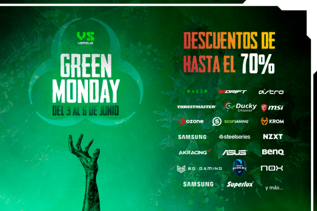Green Monday en Versus Gamers