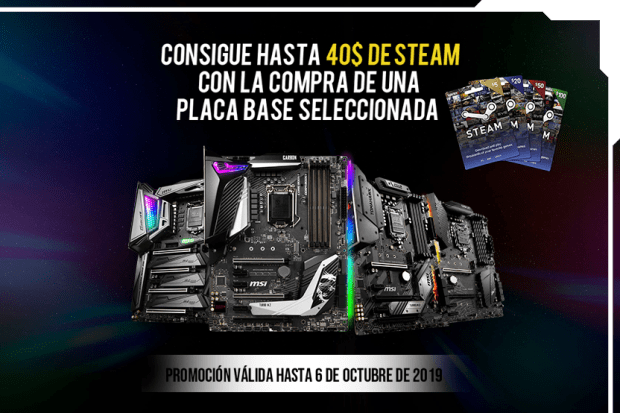 placa base steam msi