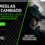 Consigue el Call of Duty: Modern Warfare con Nvidia