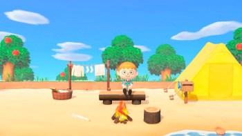 Animal Crossing comienza en una isla desierta