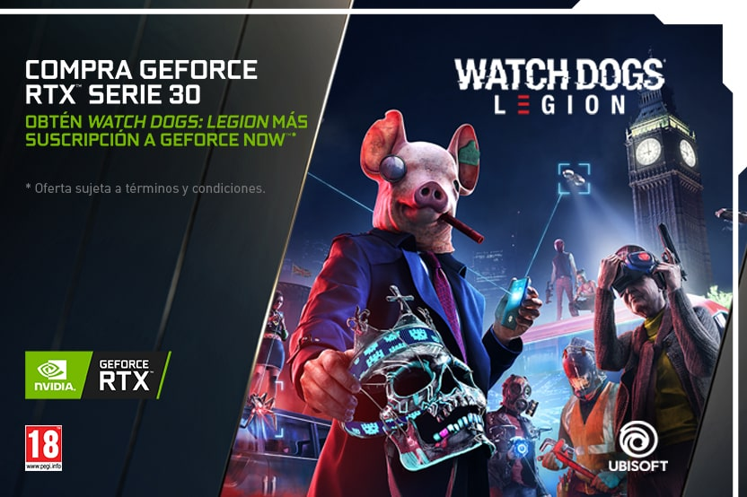 Bundle NVIDIA GeForce serie RTX 30 Verus Gamers