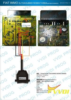 VVDI Prog & VVDI2 Program Key for Fiat Multipla 1998 MC68HC | VVDIshop